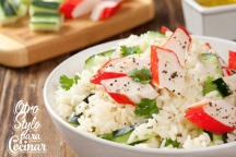 ENSALAD ARROZ Y SURIMI
