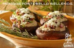HONGOS PORTOBELLO RELLENOS