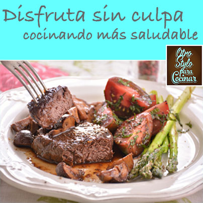 filete con chamiñones