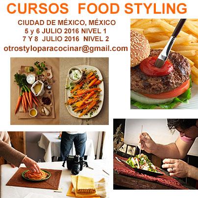 CURSO FOOD STYLING - ESTILISMO DE ALIMENTOS