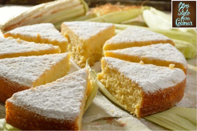 pan de elote y miel