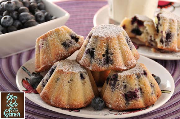 MUFFINS DE BLUEBERRIES