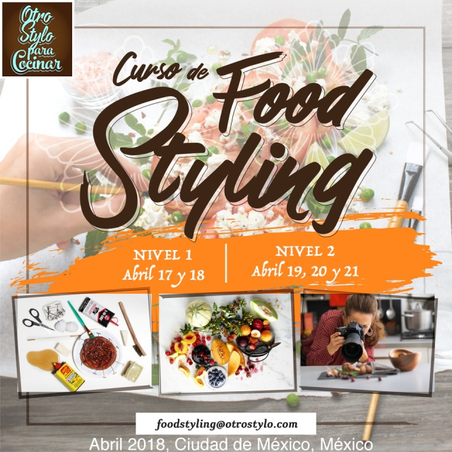 CURSOS FOOD STYLING 2018